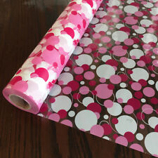 100m Red Polka Dot Cellophane Gift Wrap Hampers Baskets Birthday Mothers Day