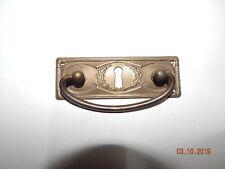Beschlag Messing Griff Schubladengriff Messing mit Loch  40x115mm