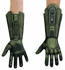 Master Chief Halo Army Video Games Book Week Child Boys Costume Gloves