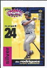 1995 UD COLLECTORS CHOICE Crash The Game Sept. 24  ALEX RODRIGUEZ