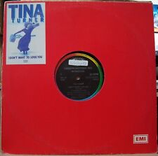 """TINA TURNER 1989 """"I Don´t Want To Lose You"""" PROMO EDITION!LP 12"""" Single BRAZIL"""