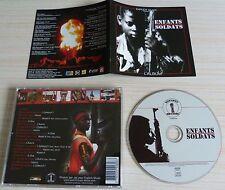 RARE CD L'ALBUM ENFANTS SOLDATS  20 TITRES EXPLICIT MUSIC RAP FRANCAIS