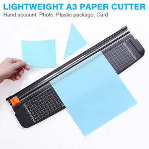Heavy Duty A3 Photo DIY Paper Cutter Guillotine Card Trimmer Home Office Supply