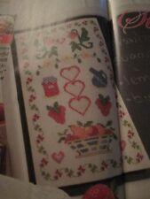'Strawberry Stitches' Jane Greenoff Cross Stitch Chart Only
