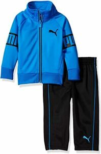 PUMA Baby Boys' Tricot Track Jacket and Pants(12 Months-4Years)