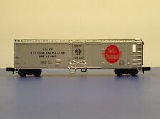 "N Scale ""Swift Refrigerator Lines"" SRLX 25045 40' Freight Train Box Car / Atlas"
