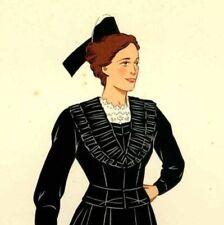 Provence Costume Arlésienne Lithographie originale Lepage Medvey 1939
