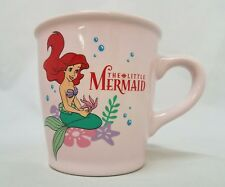 Vintage Disney The Little Mermaid Movie Ariel Coffee Mug Cup Japan Sango NIB