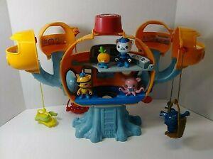 Fisher Price Octonauts Octopod Playset Original 2010 Figures And Accessories