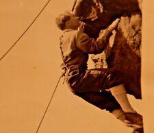 More details for brimham rocks  ????  lieut david  pugh  climbing  1960s era  24/16 cm  press pht