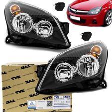 2x Opel Astra H Scheinwerfer SET Schwarz Klarglas H7/H1 + 2x Motor TÜV GARANTIE