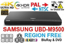 NEW SAMSUNG UBD-M9500 REGION FREE BLU RAY PLAYER MULTI ZONE ALL