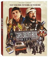 JAY AND SILENT BOB REBOOT New Sealed Blu-ray Kevin Smith Jason Mewes