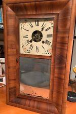 Clocks Antique pre 1930 Wall Clock - New Haven Clock Company - 30 Hour Clock