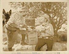 "GENE AUTRY & PAT BUTTRAM in ""Valley of Fire"" Original Photo 1951"