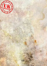 SALE VINTAGE GREY WHITE STAIN PATTERN WALL BACKDROP VINYL PHOTO 5X7FT 150x220CM