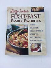 Fix-It-Fast Family Favorites - Betty Crocker Editors (2000, Hardcover)