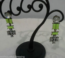 Screw Back (pierced) Acrylic Drop/Dangle Fashion Earrings