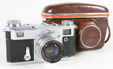 KIEV 4A SOVIET RANGEFINDER CAMERA WITH 50MM F/2 LENS