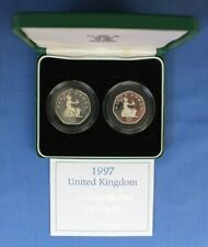 More details for 1997 silver proof 50p coin set