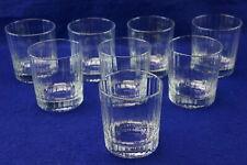 "Luigi Bormioli Bach (8) Old Fashioned Glasses, 3 3/4"" x 3 1/8"""