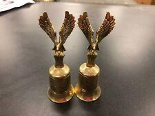 (2) Bronse Eagle Bells Isaiah 40:31