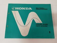 Manual manuale spaccato ricambi spare parts ita ing HONDA GL 1500 J GOLDWING 87