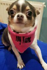 Personalized reversible dog bandana - custom neck size - XS -  FREE Post