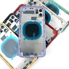 Iphone 8, 11, 11 PRO, MAX, 12  Back Housing Frame Cover Small Parts Battery Door