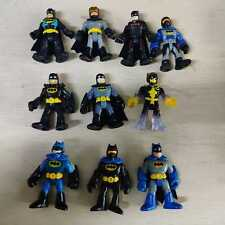 Lot of 10pcs Fisher Price Imaginext DC Super Friends Batman - All Different