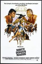 """DIRTY DINGUS MAGEE - 1970 - orig 27x41 movie poster - FRANK SINATRA - Style """"B"""""""