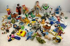 Huge Disney Character Lot of 79 PVC Figures Cake Toppers Toy Vintage Collectable