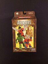 Marvel AVENGERS MINIMATES 4 Pack NEW Diamond Select Toys 2008 Iron Man Hulk Wasp