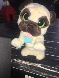 Fur Real Friends JJ My Jumping Pug Interactive Pet Dog Puppy