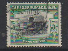South Africa - 1930, 5s - Perf 14 x 13 1/2 - G/U - SG 38a