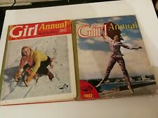 Girl annual 1962 girl annual 1961 vintage annuals for girls