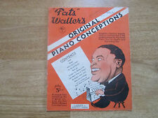 Fats Waller's Original Piano Conceptions, 1926