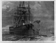 GREAT EASTERN SHIP ATLANTIC TELEGRAPH CABLE RECOVERY ANCHOR BOAT ROWING HISTORY