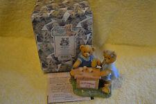 NEW ENESCO CHERISHED TEDDIES ALBERT & SUSANN EARLY EDITION FIGURINE 661848S