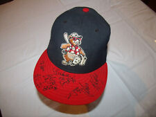 Ashville Tourists MiLB Team SIGNED Hat New Ear 59Fifty 7 USA 100% WOOL Game Worn