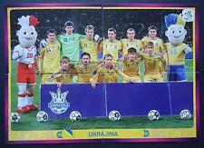 Panini 399 400 401 402 Team Ukrajina EURO 2012 Poland - Ukraine