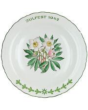 Julfest Plate 1942 - SS Porcelain Allach Julteller 1942