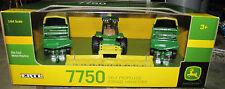 1/64 Ertl John Deere 7750 Self Propelled Forage Harvestor w/ 2 Forage Wagons