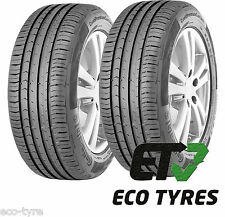 2X Tyres 195 55 R16 87H Continental ContiEcoContact 5 B B 71dB