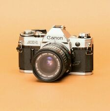 Canon Ae-1 35mm Slr Film Camera with 35-70mm Lens Kit