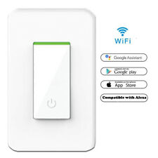 Smart WIFI Light Switch Works with Alexa Google Home IFTTT Tuya & Smart life App