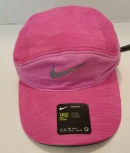 Nike Adult Tailwind Aerobill Running Cap Pink/3M/Grey NEW BV2205-686