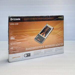 Rangebooster G Notebook Adapter D-Link WNA-2330 Wireless NEW