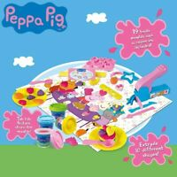Peppa Pig de Té Pasta Moldear 19 Pieza Parque Infantil Juego Juguete Kit