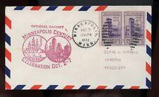 US Mid-West Event Cover (Minneapolis Century Celebration) 1933 Minneapolis, Minn